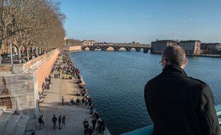 A Toulouse, les berges de la Garonne ne rouvrent pas en même temps que les terrasses. Illustration.