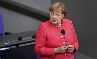 Angela Merkel est la chancelière allemande depuis quinze ans.