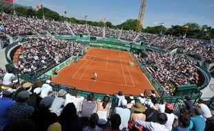 Le court numéro 1 à Roland-Garros, le 2 juin 2012.