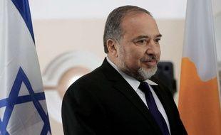 Avigdor Liberman, ministre des Affaires Etrangères, en novembre 2014.