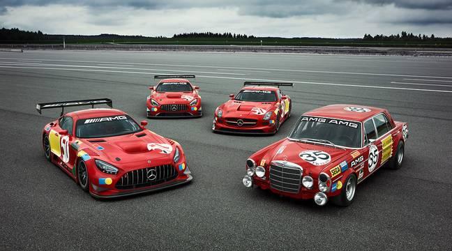 Mercedes-AMG célèbre les 50 ans d'une victoire historique