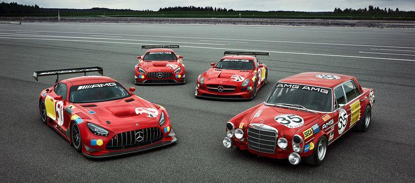 Mercedes-AMG célèbre les 50 ans de la victoire aux 24 Heures de Spa