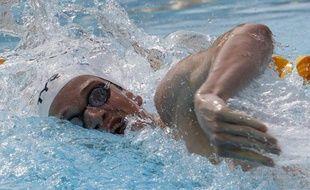 Le nageur français Yannick Agnel, en juillet, 2010, à Paris.