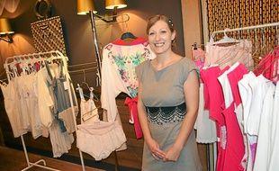 Claire Fafet, 27 ans, a créé sa propre marque de lingerie et homewear.