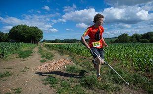 Après un trail de 26 km, Clément Gass, aveugle, a couru seul une épreuve de 54 km !