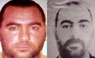 Photo montage réalisé à partir de photos du ministère des Affaires étrangères américain diffusée le 12 juin 2014, montrant Abu Baqr al-Baghdadi, dirigeant de L'EEIL (Etat islamique en Irak et au Levant)