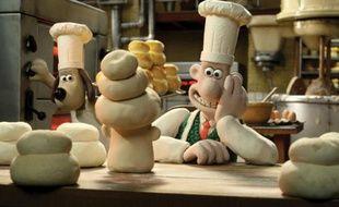 Wallace et Gromit dans le moyen-métrage «A Matter of Loaf and Death»