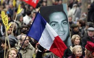 Une manifestation en 2006 à Paris pour condamner la mort d'Ilan Halimi.