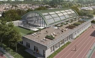 Le projet de piscine Galin, dans le quartier de la Bastide à Bordeaux.