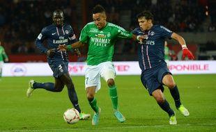 Le 3 novembre 2012, Pierre-Emerick Aubameyang avait été le principal artisan du succès stéphanois (1-2) dans l'antre du PSG de Sakho et Thiago Silva.