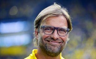 Jurgen Klopp, alors à la tête de Dortmund, le 13 août 2014.