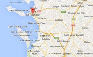 Google maps de La Rochelle (Charente-Maritime).