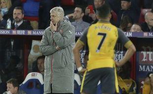 Arsène Wenger et Arsenal ont sombré à Crystal Palace (3-0), le 10 avril 2017.
