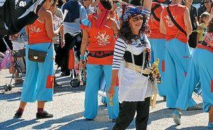 Des participants au festival de l'Estaque déguisés en pirates (archives).