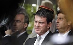 Le Premier ministre, Manuel Valls, le 20 juillet 2014 à Paris