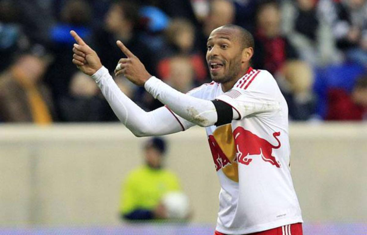 Thierry Henry avec les New-York Red Bulls, le 31 mars 2012. – Mel Evans/AP/SIPA