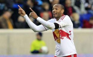 Thierry Henry avec les New-York Red Bulls, le 31 mars 2012.