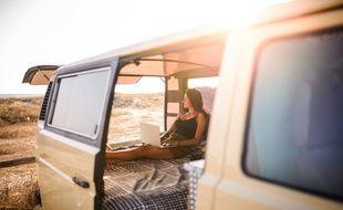 La vie en van est synonyme de confort et d'espace en moins, mais aussi de davantage de liberté.