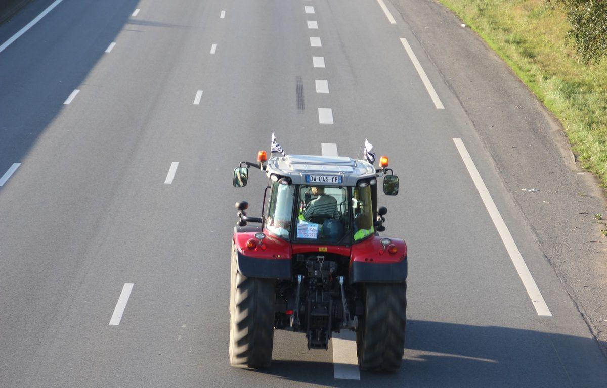 Illustration d'un tracteur. – C. Allain / APEI / 20 Minutes
