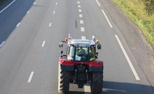 Illustration d'un tracteur.