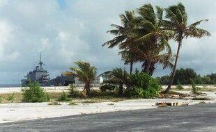 L'atoll de Mururoa, en Polynésie. (archives)