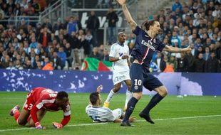Le but contre son camp de Jérémy Morel a précipité la défaite de l'OM contre le PSG (2-3), le 5 avril 2015.