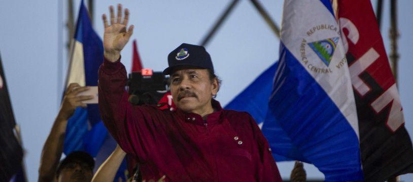 Le président du Nicaragua Daniel Ortega.