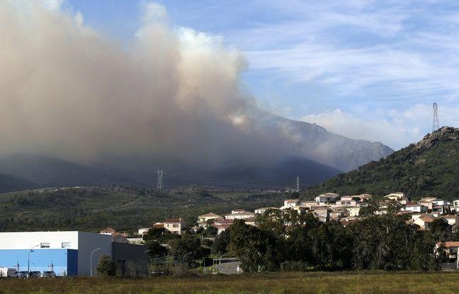 Tempête Ciara: Les habitants de Sari-Solenzara confinés en raison d'un incendie