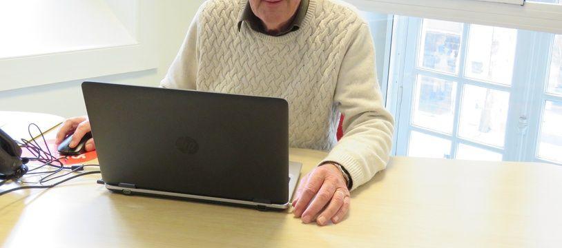 Nommé pour un an, Leo Besnard, retraité de la ville de Rennes, recevra les habitants dans son bureau en mairie.