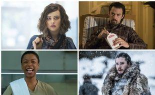 Hannah Baker de « 13 Reasons Why », Jack Pearson de  « This Is Us », Poussey Washington, d'« Orange Is The New Black » et Jon Snow de « Game of Thrones » concourent dans la catégorie personnages les plus touchants des années 2010.