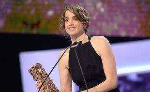 Adèle Haenel, César de la meilleure actrice, le 20 février 2015.