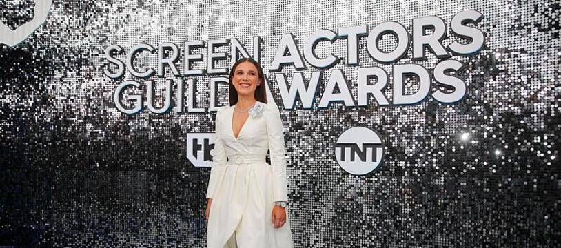 L'actrice Millie Bobby Brown