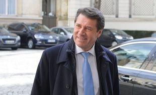 Le maire Les Républicains de Nice, Christian Estrosi, le 23 février 2016, à Paris.