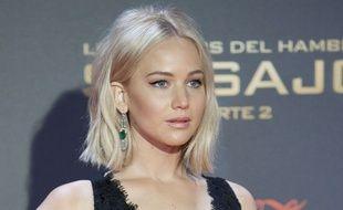 Jennifer Lawrence à Madrid le 10 novembre 2015.
