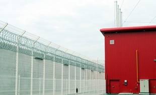 Mur de la prison de Bourg-en-Bresse.