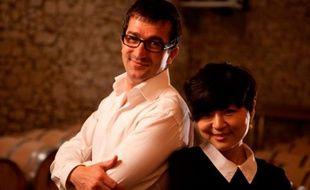Jean-Baptiste Soula et Daisy Cheng, du château Latour Laguens