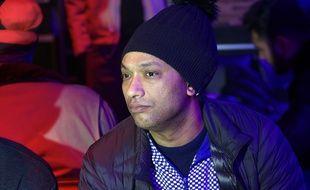 Le rappeur Doc Gyneco en 2018 lors du showcase du collectif de Hip-Hop Secteur A.
