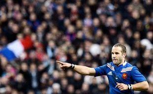 Le joueur du XV de France, Frédéric Michalak, lors de la victoire des Bleus au Stade de France, le 10 novembre 2012 contre l'Australie.