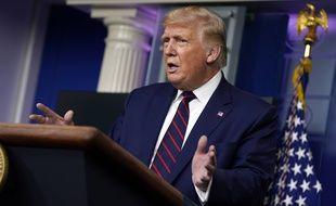 Donald Trump le 4 septembre 2020 à la Maison Blanche.