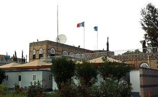 L'ambassade de France auYémen, le 24 avril 2013.