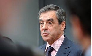 François Fillon aux journées parlementaires de l'UMP le 27 septembre 2012.