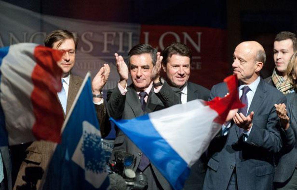 François Fillon, candidat à la présidence de l'UMP, à Gradignan, le 14  novembre 2012. – SEBASTIEN ORTOLA/20 MINUTES