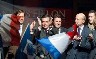 François Fillon, candidat à la présidence de l'UMP, à Gradignan, le 14  novembre 2012.