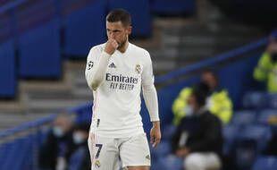 Eden Hazard, fantomatique comme la plupart des joueurs du Real Madrid lors de la demi-finale retour de Ligue des champions sur la pelouse de Chelsea.