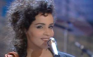 Amina Annabi a représenté la France à l'Eurovision 1991, à Rome.