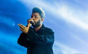 The Weeknd sur scène