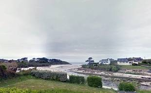 La plage du Penfoul à Landunvez, dans le Finistère.