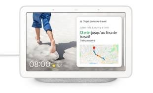 Le Google Nest Hub et son écran de 7 pouces, en France le 28 mai.