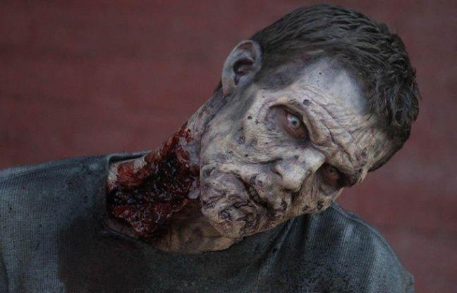 Un zombie dans la saison 5 de «The Walking Dead».