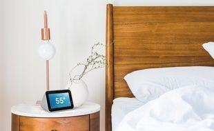 Le Smart Clock, un radio-réveil connecté nouvelle génération.